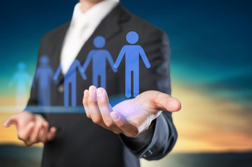 Leader best business candidate career choice client