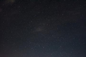 Starry sky on a summer night
