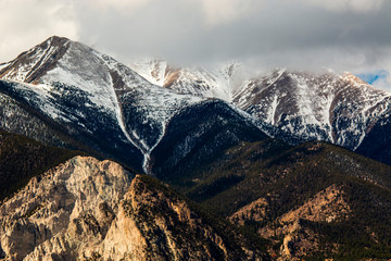 Clouds and Fog on the Sangre de Cristo