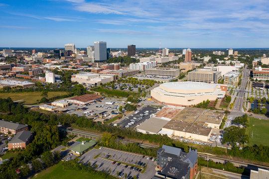 Columbia South Carolina Day Skyline Aerial Photo
