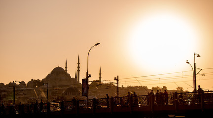 Ottoman style mosque in Istanbul