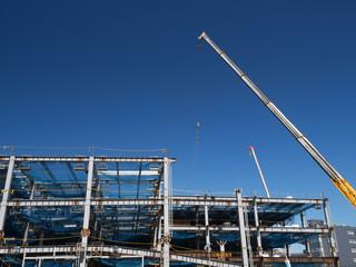 Fototapete - ビルの建設現場