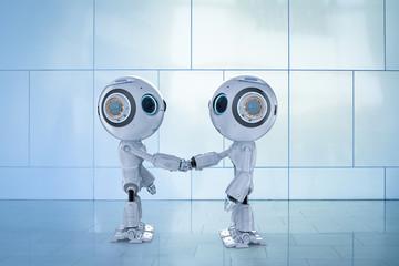 robot hand shake