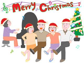 高齢者のクリスマスイベント