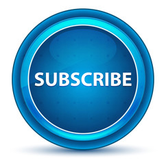 Subscribe Eyeball Blue Round Button