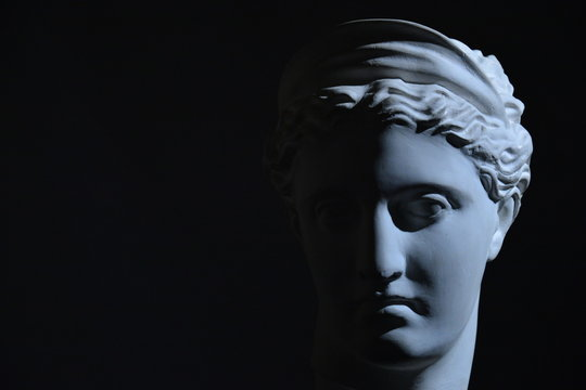 Statue portrait art
