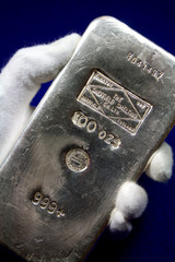 Sheffield Smelting Company, England - 100 Ounce Silver Bullion Bar