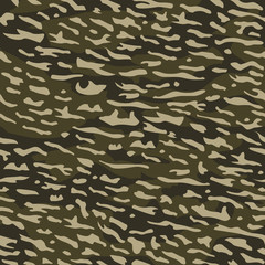 Camouflage Seamless Wallpaper Backdrop Vector
