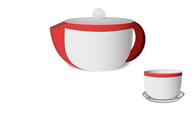 Coffee Kettle and Mug