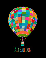 Air balloon for your design
