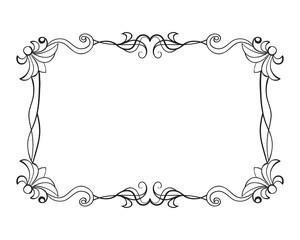 Nice vintage frame vector