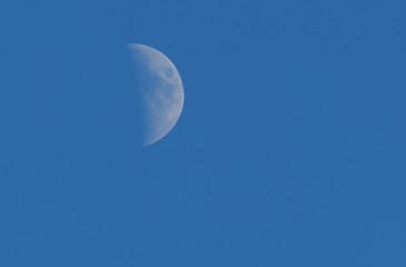 big moon in the sky
