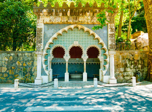 Moorish Fountain in Sintra