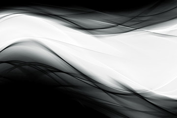 Balck and white futuristic waves background element your design.