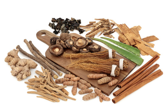 Adaptogen Herbs and Spices