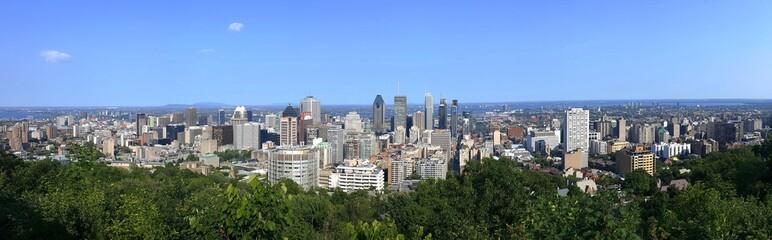 panorama de Montréal