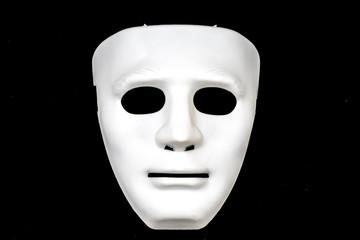 Weiße Maske