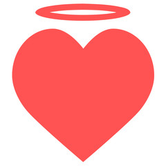 angel heart icon