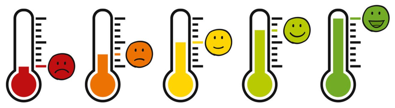 Stimmung / Barometer / Meinung / Zufriedenheit / Unzufriedenheit