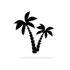 Coconut icon. Vector concept illustration for design.