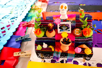 Miniature Altar for Day of the Dead