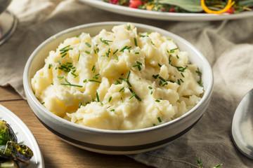 Healthy Homemade Mashed Potatoes