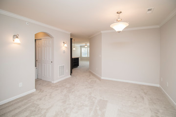 Empty Home Dining Room