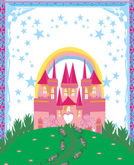 Magic Fairy Tale Princess Castle - frame