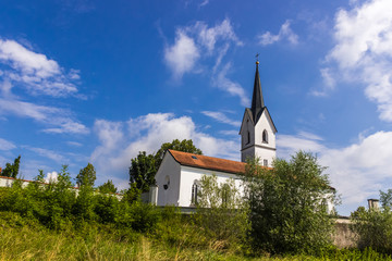 Beautiful bavarian church