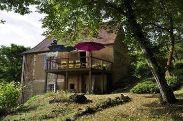 Altes Französisches Ferienhaus aus Naturstein