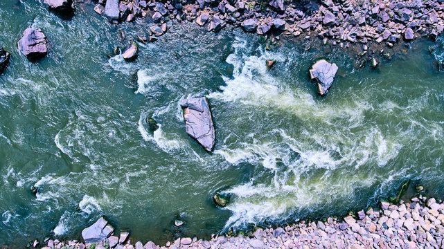 Colorado River Rapids rocks