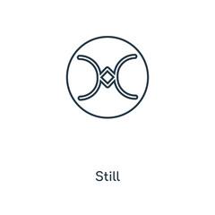 still icon vector