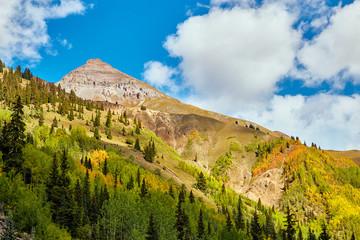 Rocky Mountains Color Vibrant Green
