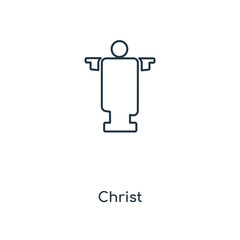 christ icon vector
