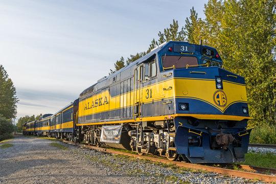 アラスカ鉄道 Alaska Central Railroad