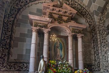 catedral de mazatlan mexico sinaloa interiores iglesia