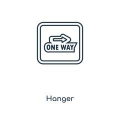 hanger icon vector