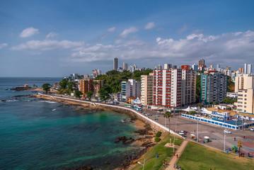 View from Farol da Barral, Salvador - Bahia