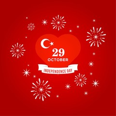turkey independence day design