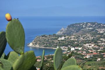headland Cape Vaticano in Calabria in Italy