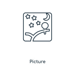 picture icon vector