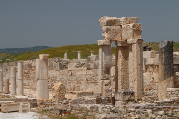 Ruins of the ancient town Tripolis on the Meander, Turkey