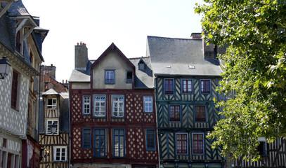 Rennes - Maisons à Colombage