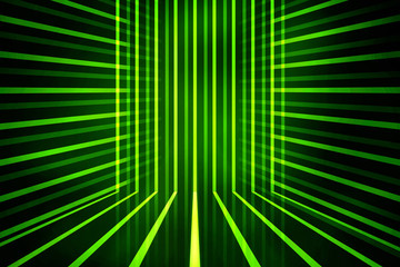 2d illustration Abstract futuristic electronic circuit technology background