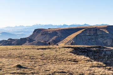 Bermamyt mountain Plateau in Caucasus Mountains