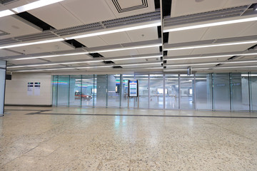 a way of  West Kowloon Railway Station