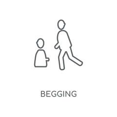 begging icon