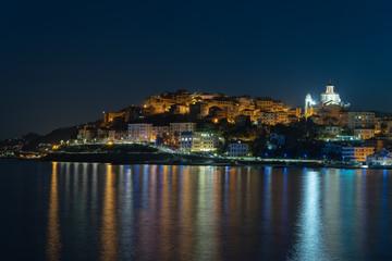Italian Riviera, Imperia by night