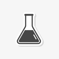 Beaker For Experiment sticker or logo