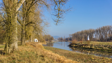 Beautiful view near Plattling-Bavaria-Germany